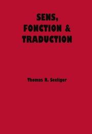 Sens, Fonction & Traduction
