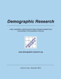 Demographic Research, Volume 5