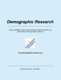 Demographic Research 8