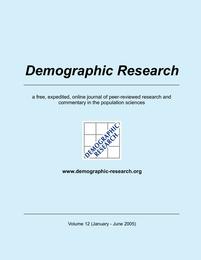 Demographic Research, Volume 12