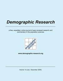 Demographic Research, Volume 13