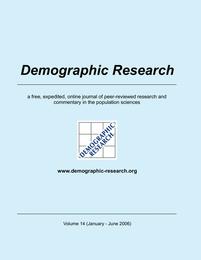 Demographic Research, Volume 14