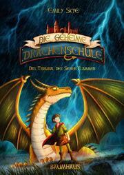 Die geheime Drachenschule - Das Tribunal der Sieben Flammen - Cover