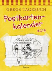 Gregs Tagebuch - Postkartenkalender 2015