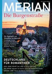 MERIAN MAGAZIN Die Burgenstraße - Cover