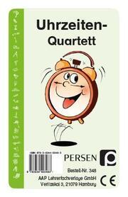 Uhrzeiten-Quartett