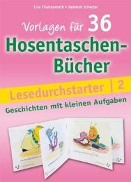 Vorlagen für 36 Hosentaschenbücher - Lesedurchstarter 2