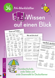 36 A4-Merkblätter DaZ-Wissen auf einen Blick