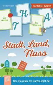 Stadt, Land, Fluss - Senioren-Edition