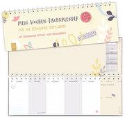 Mein Wochen-Tischkalender für das Schuljahr 2021/2022 - 'live - love - teach'