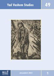Yad Vashem Studies Vol. 49.1