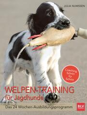 Welpen-Training für Jagdhunde