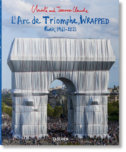 Christo and Jeanne-Claude. L'Arc de Triomphe, Wrapped
