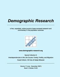 Demographic Research, Volume 17: Book II