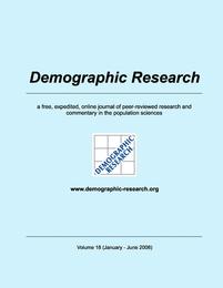 Demographic Research, Volume 18