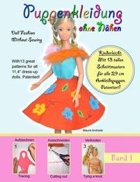 Puppenkleidung ohne Nähen in 5 Minuten 1