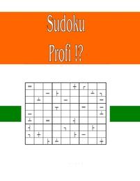 Sudoku Profi!?