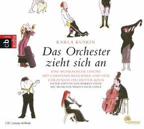 Das Orchester zieht sich an