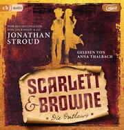 Scarlett & Browne - Die Outlaws - Cover