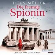 Die fremde Spionin (1) - Cover