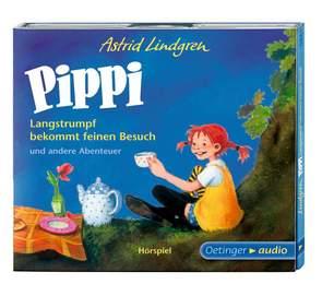Pippi Langstrumpf bekommt feinen Besuch und andere Abenteuer