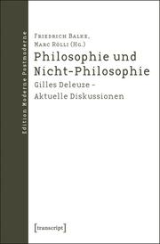 Philosophie und Nicht-Philosophie