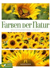 Farben der Natur - Wochenplaner 2022