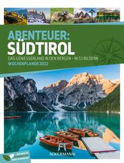 Abenteuer: Südtirol - Wochenplaner 2022