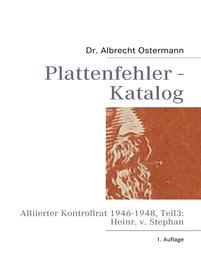 Plattenfehler-Katalog 3