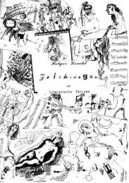 Zeichnungen und literarische Skizzen