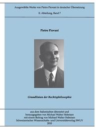Ausgewählte Werke von Pietro Piovani in deutscher Übersetzung