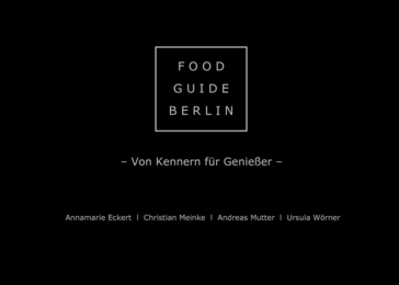 Food Guide Berlin