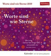 Worte sind wie Sterne 2019 - Cover