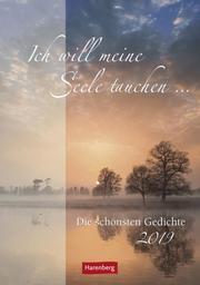 Ich will meine Seele tauchen... - Kalender 2019 - Cover