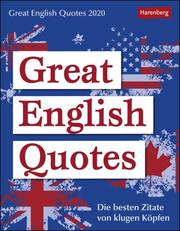 Great English Quotes 2020
