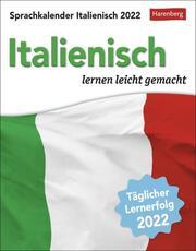 Sprachkalender Italienisch 2022