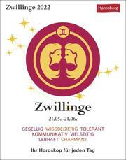 Zwillinge Kalender 2022 - Cover