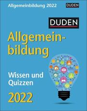 Duden Allgemeinbildung Kalender 2022