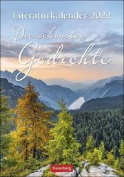 Literaturkalender Die schönsten Gedichte 2022