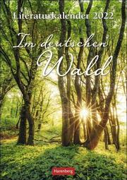 Literaturkalender Im deutschen Wald 2022