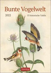 Bunte Vogelwelt Kalender 2022