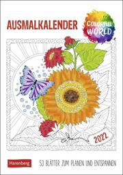 Colorful World Ausmalkalender 2022