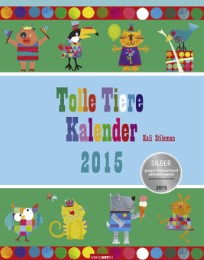 Tolle Tiere Kalender 2015