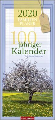 100jähriger Kalender Familienplaner 2020