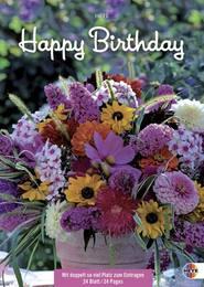 Happy Birthday: Blumen