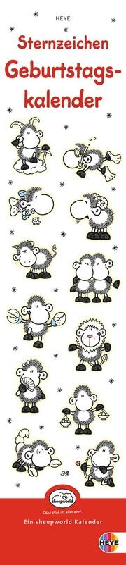 Sheepworld: Sternzeichen Geburtstagskalender