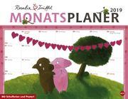 Rosalie & Trüffel Monatsplaner - Kalender 2019