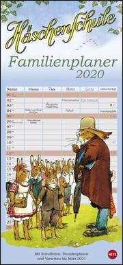 Häschenschule Familienplaner 2020
