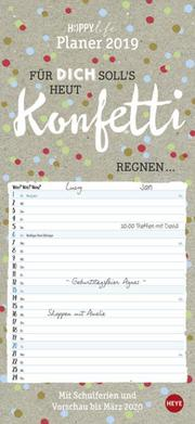 HAPPYlife Planer - Kalender 2019