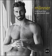 Männer Postkartenkalender 2021